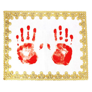 Designer Textile Crafts for Handprint