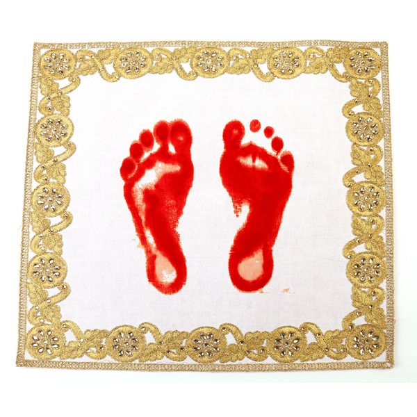 Embroidery Art Crafts Product for Footprint