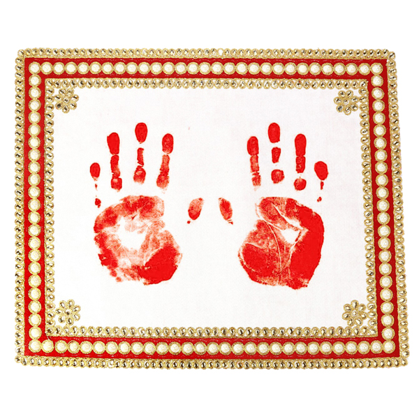 Handprint Canvas for Brides